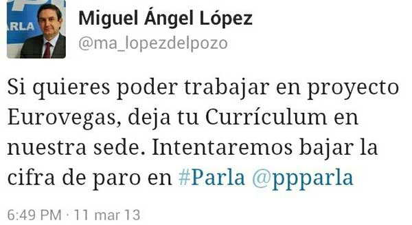 tweet miguel angel lopez