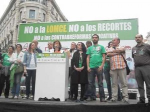 Salvemostelemadrid con la Educacin pblica
